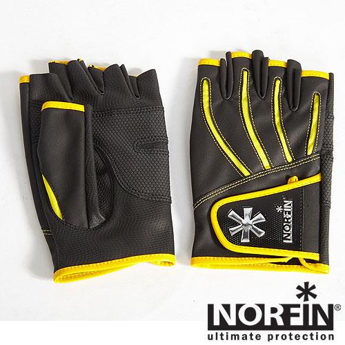 Перчатки Norfin Pro Angler 5 Cut GlovesПерчатки рыболовные<br>Рыболовные перчатки разработаны специально <br>для удобства ловли рыбы спиннингом. Они <br>отлично защищают кисти рук от механических <br>воздействий и согревают руки рыболова в <br>прохладную погоду. Особенности: - защита <br>рук рыболова от механических воздействий; <br>- удобные, плотно облегают руку; - наличие <br>застежек-липучек на запястье; - износостойкий <br>материал.<br><br>Пол: унисекс<br>Размер: M<br>Сезон: лето<br>Цвет: черный<br>Материал: флис