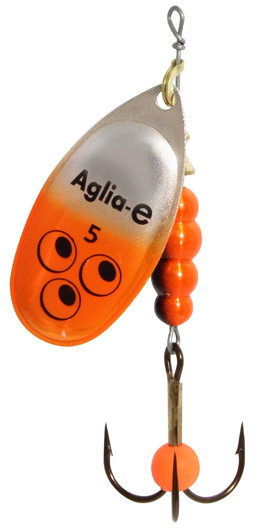 Блесна вращ. MEPPS Aglia E №5 Orange Bright (12шт)Блесны<br><br>