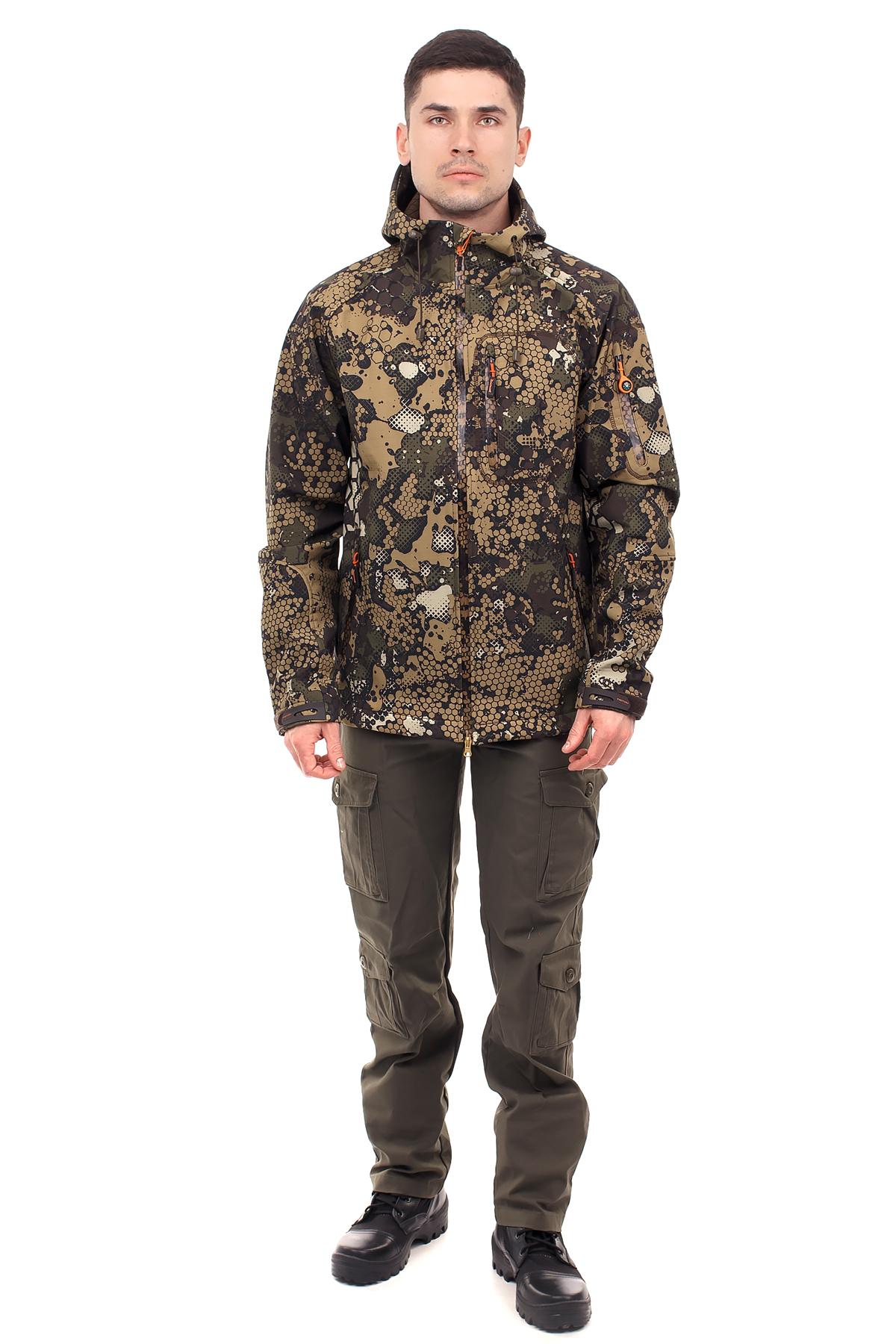 Куртка Тритон Pro (Софт Шел/Бежевый) TRITON Куртки софтшелл (Softshell)<br>Куртка «Тритон», идеально подойдет для <br>повседневной носки, активного отдыха и <br>охоты в демисезонный период. Куртка: 1. Центральная <br>дух замковая молния; 2. 4 кармана с тесьмой <br>молния; 3. Капюшон регулируется по объему; <br>4. Объем низа рукава негулируется патой <br>с контактной лентой.<br><br>Пол: мужской<br>Размер: 60-62<br>Рост: 182-188<br>Сезон: демисезонный<br>Цвет: коричневый