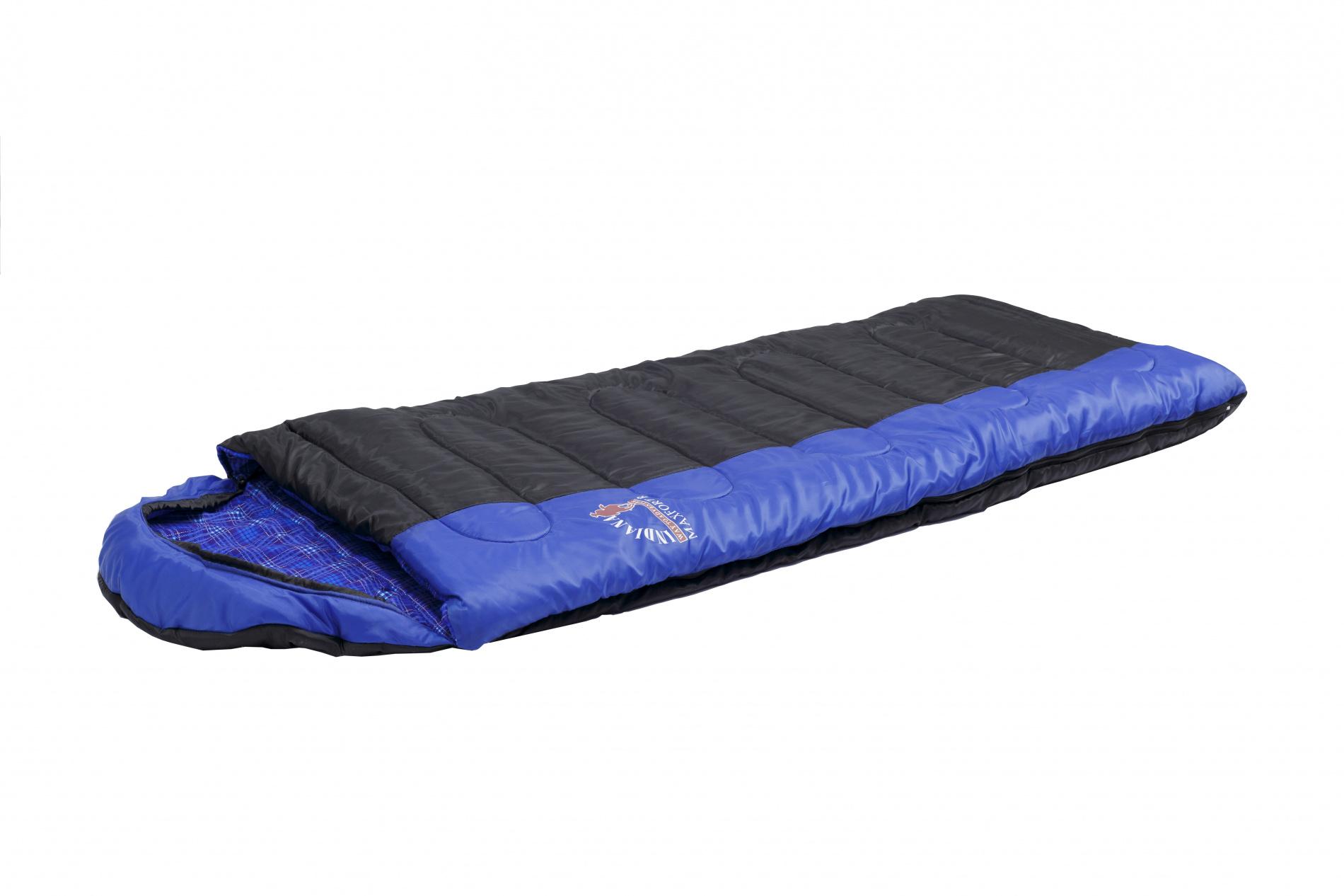 Спальный мешок MAXFORT R-zip от -8 C (одеяло с подголов Спальники<br>Спальный мешок MAXFORT R-zip от -8 C (одеяло с подголов <br>фланель 195+35X90 см)<br>Cпальный мешок-одеяло с капюшоном-подголовником, <br>который можно использовать в путешествиях <br>на природу и повседневной жизни. Отличительной <br>особенностью этой модели, является использования <br>хлопковой фланели в качестве подкладки, <br>что увеличивает комфортность использования <br>спальника.<br>Выпускается как с левой так и с правой молнией, <br>что позволяет соединить два спальник друг <br>с другом.<br>Молния справа<br>Характеристики<br>Масса: 2,9 кг<br>Экстремальная температура: С-8<br>Температура комфорта: С+10<br>Верхняя температура комфорта: С+5<br>Наполнитель: Fiber Warm<br>Размеры: 195+35х90 см<br>Размеры: в чехле 49х25 см<br>Внутренняя ткань: хлопок<br>Внешняя ткань: полиэстер<br><br>Сезон: демисезонный
