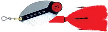 Блесна вращ. MEPPS Lusox AG №1 блистерБлесны<br>Это классические вращающиеся блесны для <br>ловли щуки со сменными груз-головками. Они <br>оснащены лепестка обладающими сложной <br>конфигурацией, благодаря которой при вращении <br>создают в воде мощное волновое движение <br>(на жаргоне спиннингистов: активно «толкают <br>воду»). Это — по настоящему уникальное качество <br>Lusox. Угол отклонения лепестка при вращении <br>не превышает 25°. Единственная проблема <br>при использовании этой очень уловистой <br>блесны — освоение правильной проводки. <br>В общих чертах, она напоминает обычную ступенчатую, <br>с высоким и немного ускоренным подъемом <br>ото дна и максимально длинным, медленным <br>и пологим спуском. Такой проводки не сложно <br>добиться, подобрав правильный вес сменного <br>груза.<br>